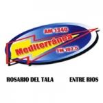 Logo da emissora Radio Mediterranea 1340/102.5 AM/FM