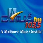 Logo da emissora Rádio Caiuá 103.5 FM