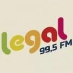 Logo da emissora Rádio Legal 99.5 FM