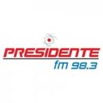 Logo da emissora Radio Presidente 98.3 FM