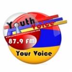 Logo da emissora Radio Yeridasartoutian Tsayne 87.9 FM