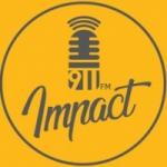 Logo da emissora Radio Impact 91.1 FM