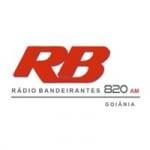Logo da emissora Rádio Bandeirantes Jornal 820 AM