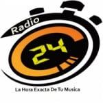 Logo da emissora Radio 24 CR