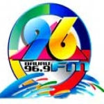 Logo da emissora Rádio 96 FM Bauru