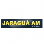 Logo da emissora Rádio Jaraguá 1010 AM