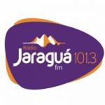 Logo da emissora Rádio Jaraguá 101.3 FM