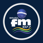 Logo da emissora Rádio Brasil 107.7 FM