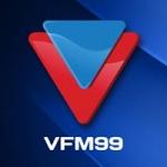 Logo da emissora Radio V 99 FM
