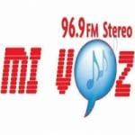 Logo da emissora Radio Mi Voz 96.9 FM