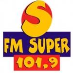 Logo da emissora Rádio FM Super 101.9