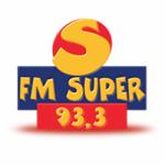 Logo da emissora Rádio FM Super 93.3