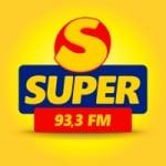 Logo da emissora Rádio FM Super  93.3 Região Serrana