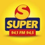 Logo da emissora Rádio FM Super 94.1 94.5