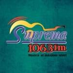 Logo da emissora Radio Suprema 106.3 FM