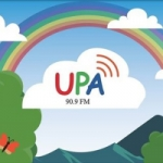 Logo da emissora Radio UPA 90.9 FM