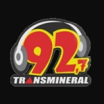 Logo da emissora Rádio Transmineral 92.7 FM