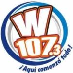 Logo da emissora Radio W107 107.3 FM