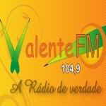 Logo da emissora Rádio Valente 104.9 FM