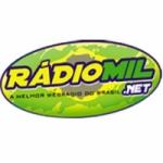 Logo da emissora Rádio Mil.Net