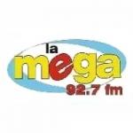 Logo da emissora Radio La Mega 92.7 FM