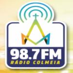 Logo da emissora Rádio Colméia 98.7 FM