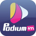 Logo da emissora Podium FM