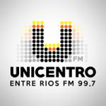 Logo da emissora Rádio Unicentro Entre Rios  99.7 FM