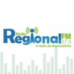 Logo da emissora Rádio Regional 87.9 FM