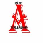 Logo da emissora Rádio Atual Barroso
