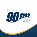 Logo da emissora Rádio 90 FM Lite Hits