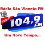 Logo da emissora Rádio São Vicente FM
