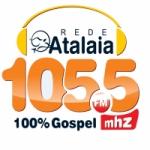 Logo da emissora Rádio Atalaia 105.5 FM