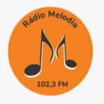 Logo da emissora Rádio Melodia 102.3 FM