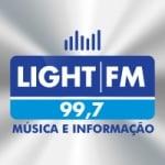 Logo da emissora Rádio Light 99.7 FM