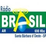 Logo da emissora Rádio Brasil 690 AM