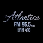 Logo da emissora Radio Atlantica 96.5 FM