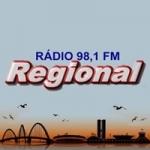 Logo da emissora Rádio Regional 98.1 FM