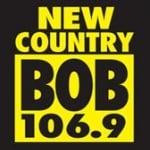 Logo da emissora WGZR 106.9 FM Bob