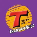 Logo da emissora Rádio Transamérica 90.3 FM