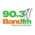 Logo da emissora Rádio Band 90.3 FM