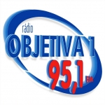 Logo da emissora Rádio Objetiva 1 95.1 FM
