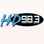 Logo da emissora WHHD 98.3 FM HD