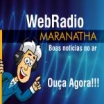 Logo da emissora Web Rádio Maranatha