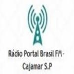 Logo da emissora Rádio Portal Brasil FM