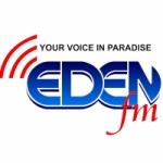 Logo da emissora Radio Eden 93.8 FM