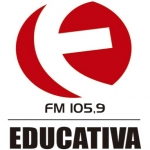 Logo da emissora Rádio 105.9 FM Educativa