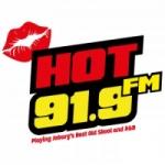 Logo da emissora Radio Hot 91.9 FM