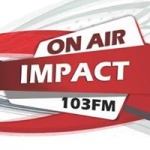 Logo da emissora Radio Impact 103.0 FM