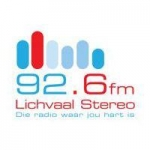 Logo da emissora Radio Lichvaal Stereo 92.6 FM